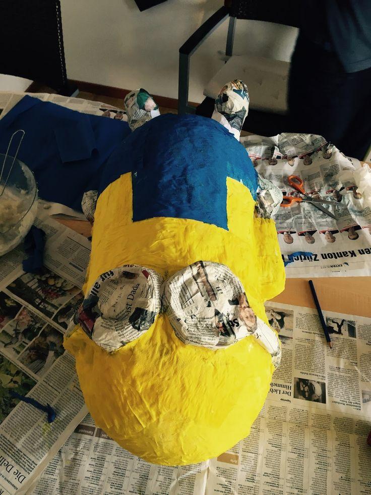 Sister Love vs. Crafts: Minion Pinata how to do
