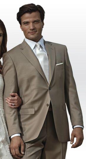 Groomsmen Suits Rental | Tan Groomsmen Suit (Rental) | Wedding Love