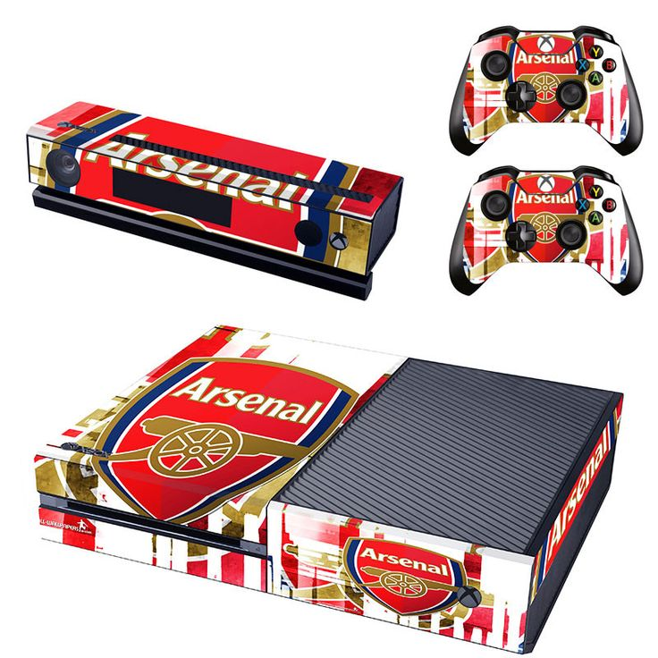 Arsenal FC xbox one skin for console and controllers