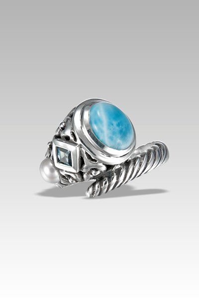 64 best MarahLago Larimar Rings images on Pinterest Larimar rings