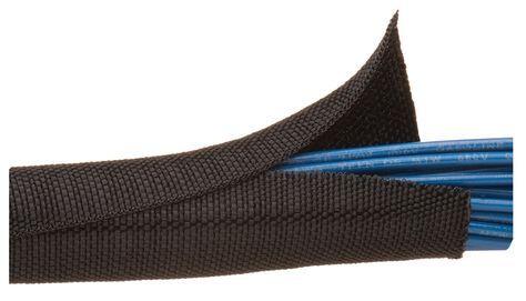 snoeren netjes wegwerken F6 Woven Wrap : Techflex!, Flexibele sleeving - draad en kabel management