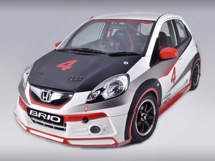 2013 Honda Brio Club Racer race racing tuning wallpaper background