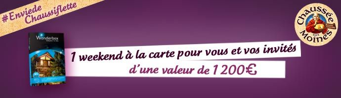 Dotation @chausseeauxmoines #Enviedechaussiflette