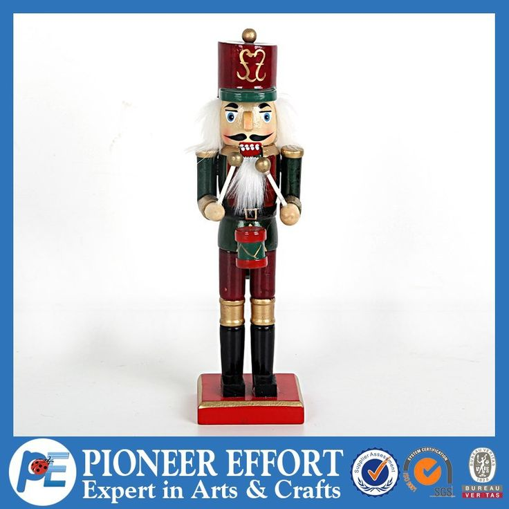 Wooden soldier nutcracker for Christmas decorations, View wooden soldier nutcracker, PE Product Details from Shanghai Pioneer Effort Arts & Crafts Company Limited on Alibaba.com