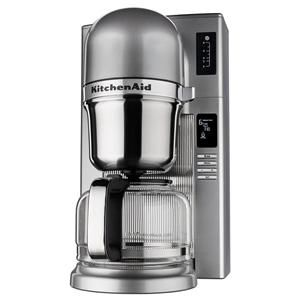 The new KitchenAid® Pour Over Coffee Maker combines the flavor and control of the manual pour over process with the programmability and convenience of a traditional coffee maker.