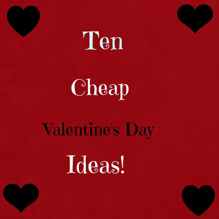 Best 25+ Cheap Valentines Day Ideas Ideas On Pinterest