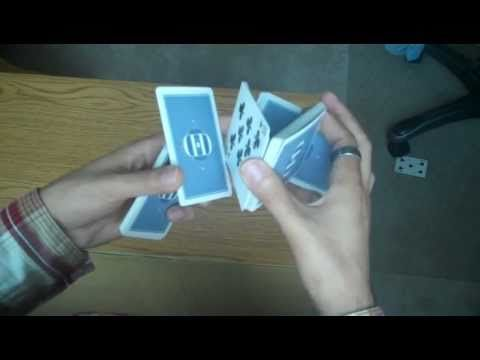 ▶ Card Tricks: Sybil Cut Tutorial - YouTube  Just learned this, and love it.  The basis for so many tricks...