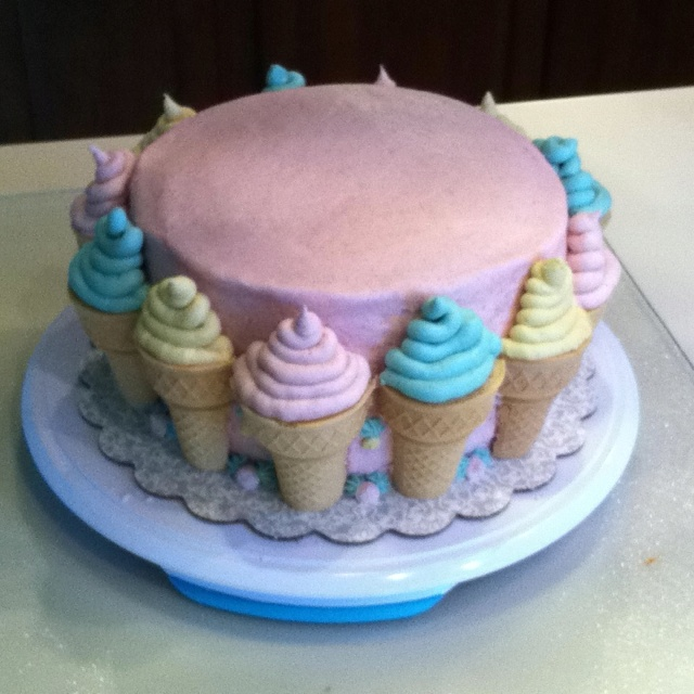 Ice Cream Themed Cake : Ice cream theme cake!! Birthdays and other celebrations Pinterest