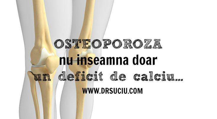 Osteoporoza este o problema de sanatate complexa