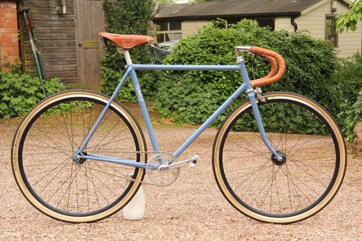 Blue racer #custom #fixie #singlespeed #britishmade #cycling #bristol