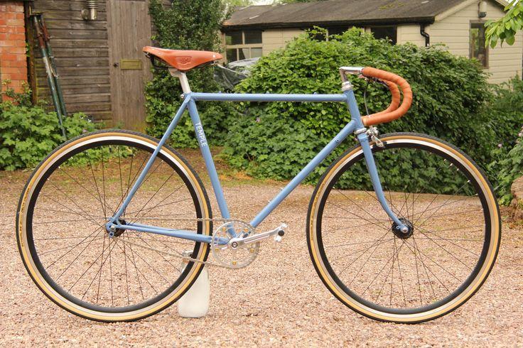 Blue racer #custom #fixie #singlespeed #britishmade #cycling #bristol