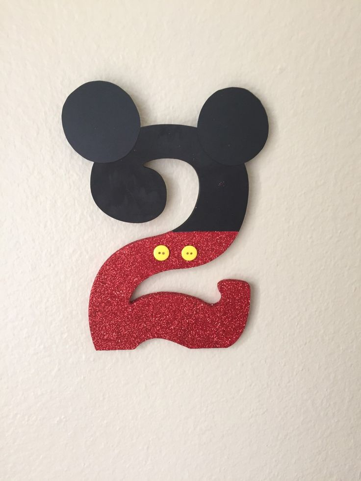 Mickey Mouse Clubhouse Birthday Number by SeeSamanthaCreate on Etsy https://www.etsy.com/listing/231010257/mickey-mouse-clubhouse-birthday-number