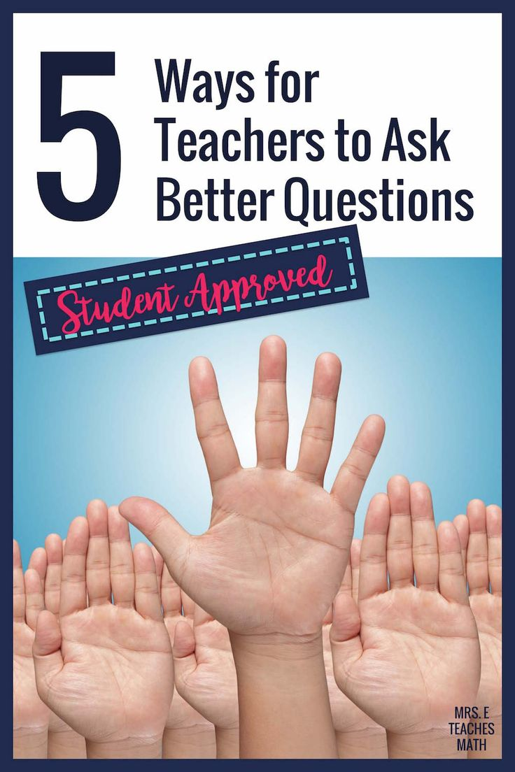 effective questioning leads to improved student Effective questioning  asking questions forms part of any lesson because it invites the student  explore the reasoning and critical thinking that leads to a.
