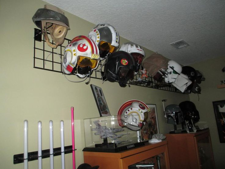 1000 Images About Helmet Storage On Pinterest Wall