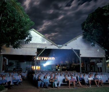 Sun Pictures Cinema, Broome Australia. (outdoor cinema)
