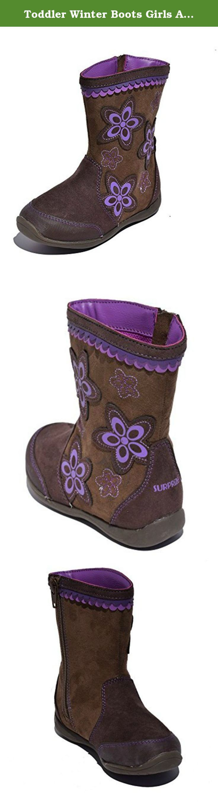 Toddler Winter Boots Girls Ankle Flower Pattern Brown. Why not grab a pair of these Toddler Winter Boots Girls Ankle Flower Pattern Brown ? Simply put, Toddler Winter Boots Girls Ankle Flower Pattern Brown are superior to similar products: - These toddler winter boots look fantastic and have a great style. - Your little girl will feel confidant and special in these toddler winter boots. - These toddler ankle boots have fine craftsmanship and are built to last. - Every girl deserves a pair…