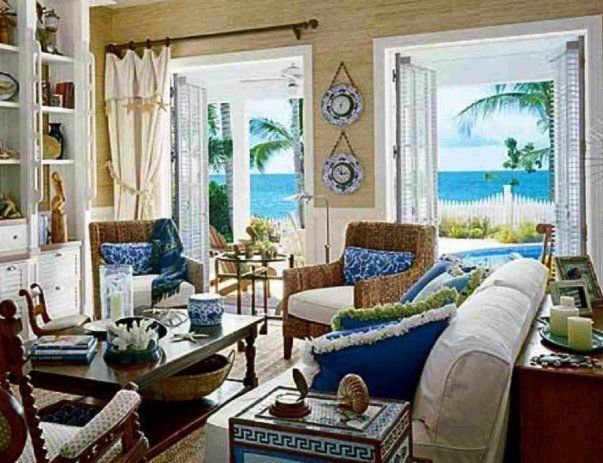 37 best Déco turquoise images on Pinterest Turquoise, Colors and - beach living room furniture