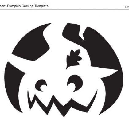 Best Halloween Pumpkins Images On Pinterest  Silhouettes
