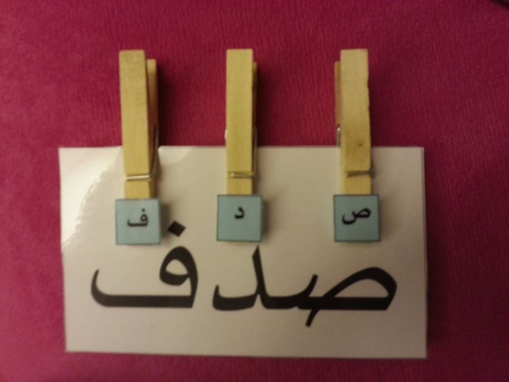 Arabic letter learning