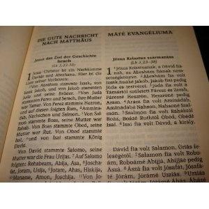 Die Gute Nachricht / Ujszovetseg - Bilingual HUNGARIAN NEW TESTAMENT - Das Neue Testament in heutigem Deutsch / Magyar nyelvu Uj Testamentum  $24.99