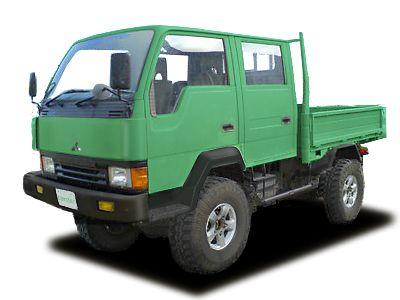 MITSUBISHI CANTER 4WD Wcab  char(my lovely dog)がやってきた!・・・char(岩魚/カッコよくて上手いギ...