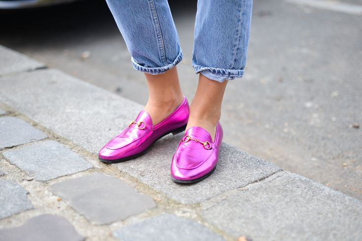 Gucci have dusted off and revamped their classic almond toe loafers and now everyone is clambering to get a pair