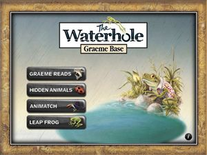Graeme Base: The Waterhole App