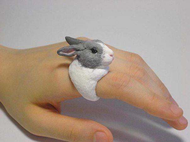 Amazing Handmade Polymer Clay Animal Rings #diy #craft