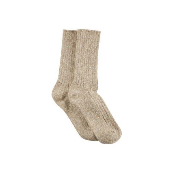Hue Womens Tweed Ribbed Boot Socks (25 AED) ❤ liked on Polyvore featuring intimates, hosiery, socks, beige, hue hosiery, ribbed socks, mid calf socks, hue socks and beige socks