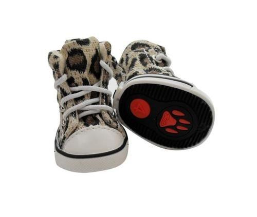 """Стильные ботиночки для собак """"Леопард"""""""