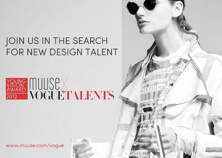 2012 MUUSE x Vogue Talents Young Vision Award