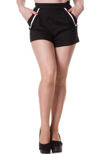 Hell Bunny Deckhand Women's Shorts (Black)