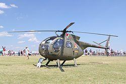 Hughes OH-6A Cayuse (369A).jpgHughes 500 DefenderHughes OH-6A Cayuse (369A).jpgTransporte de personal, escolta y misiones de ataque, y observación.Hughes 500Flag of the United States.svg Estados Unidos
