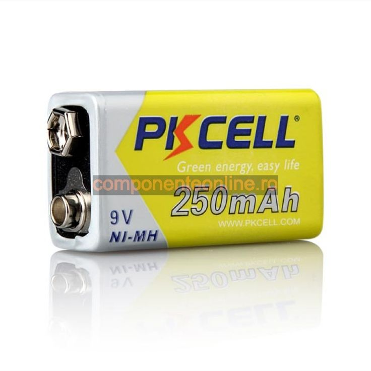 Acumulator 9V, 6F22, 250mA, PKCELL - 201322
