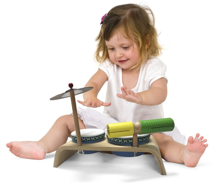 By preschool age, the kids will be showing you things to do with the instruments. Take time each day, even if it is only 20 minutes, to interact with them musically. Always, always, be their role model for musicality. Have fun playing music every day! #green tones® #eco instruments & toys
