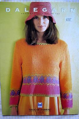 DALEGARN - DALE OF NORWAY BOOK #122 knitting pattern, has Haiti pattern in it