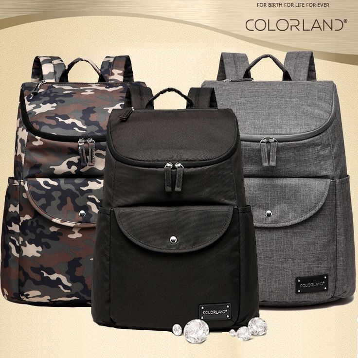 39.99$  Buy now - COLORLAND Camouflage ackpack Diaper Bag dad mom New Design Nappy Bag Durable Baby Bags For Stroller Baby Changing Bag mat set  #buymethat