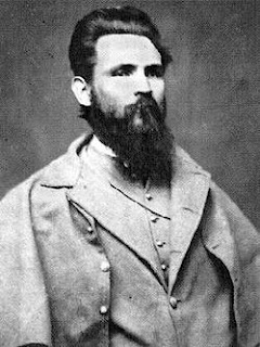 Confederate General John Gregg died October 7th 1864 during the Siege of Petersburg.