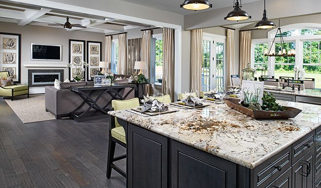 Dream kitchens we love on Pinterest | Richmond American Homes, New ...
