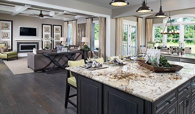 Dream kitchens we love on Pinterest | Richmond American Homes, New ...