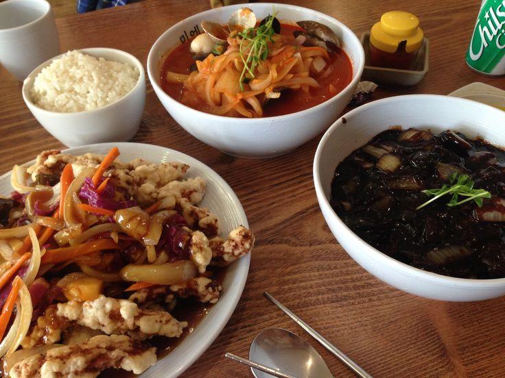 #lunch #koreanfood  잊을만하면 먹게되는 한중음식