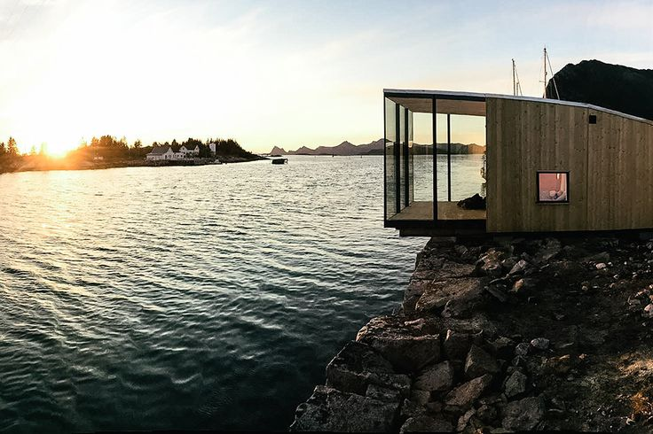 Located on a 55 acre island in the middle of the Grøtøya strait in Norway, these Manshausen Seacabins provide modern accommodations in a rugged landscape. Each cabin has two separate bedrooms, and come equipped with a single bathroom, shower, and...