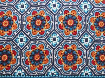 Haakpatroon Persian Tiles Deken, lees meer over dit patroon op Haakinformatie