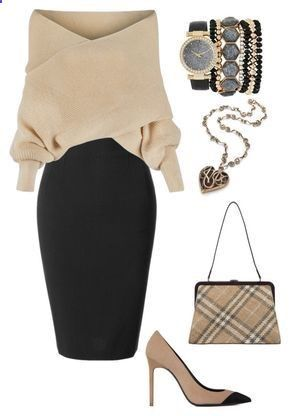 Women's Skirts – #womensskirts  – Untitled #174 by kimmmyg on Polyvore featuring…
