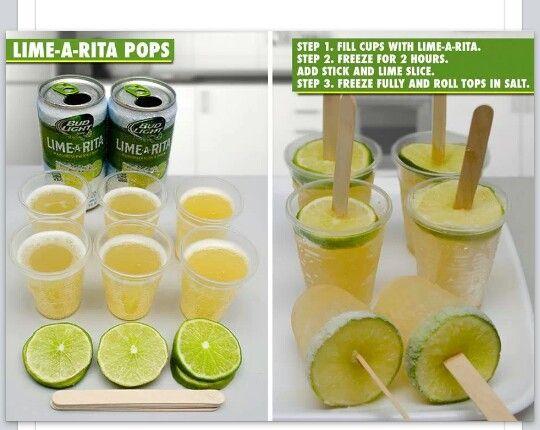 Bud Light Margarita Pops!