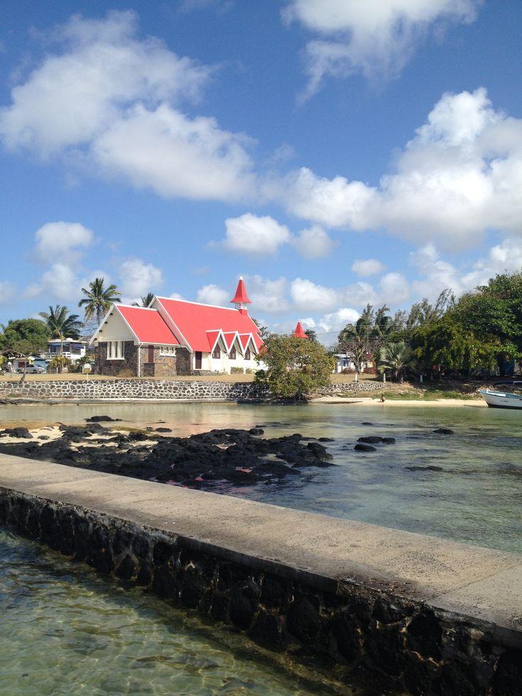Église de Cap Malheureux #CapMalheureux #Mauritius