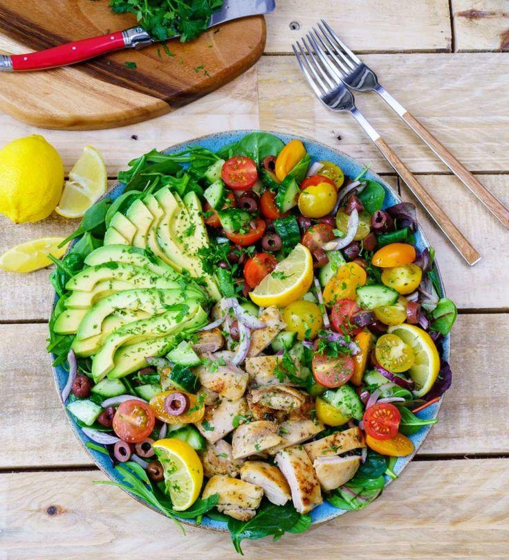 Lemon Herb Mediterranean Chicken Platter