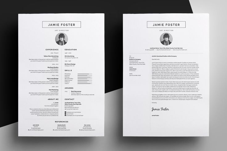 Resume / CV Template - Jamie --- Part of the Best Selling BLACK Collection - Resume/CV - Bailey - - Resume/CV - Blake - - Resume/CV - Brice - - Resume/CV - Elliot - - Resume/CV - Frankie - -