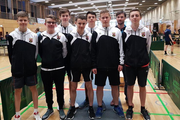 Jugend trainiert für Olympia: Tischtennis-Team des Gymnasiums Nieder-Olm berichtet von dem Wettkampf
