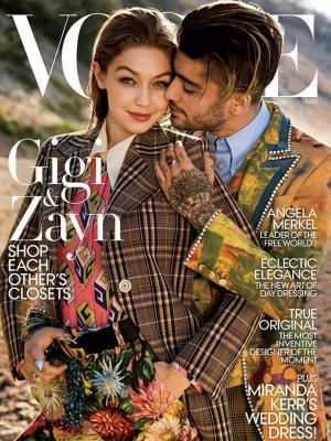 Wow, Zayn Malik - Gigi Hadid Pamer Kemesraan Lagi di Sampul Majalah